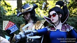 League of Legends | Vayne and Twisted Fate by Jynxed-Art ...