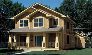 Awesome Traditional Brown Exterior Paint Colors Green Lawn