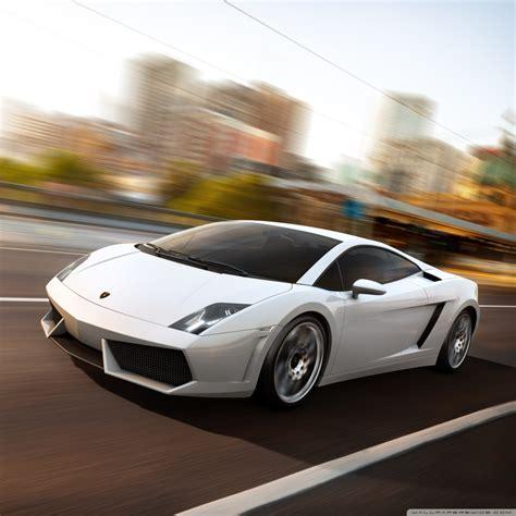 Lamborghini Gallardo Lp560 White 4k Hd Desktop Wallpaper