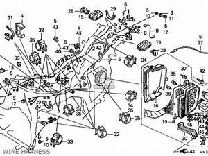 Honda Gl1500 Goldwing 1990  L  Germany Parts Lists And