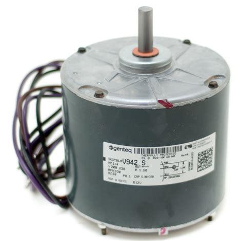 ac condenser fan motor replacement condenser fan motor b13400271s goodman amana 1 4 hp 1