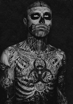 486 Best Rick Genest (Zombie Boy) images | Rick genest, Cover tattoo, Canadian artists
