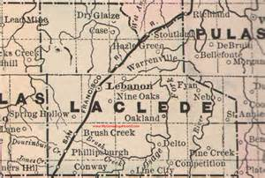 Laclede County Missouri Map