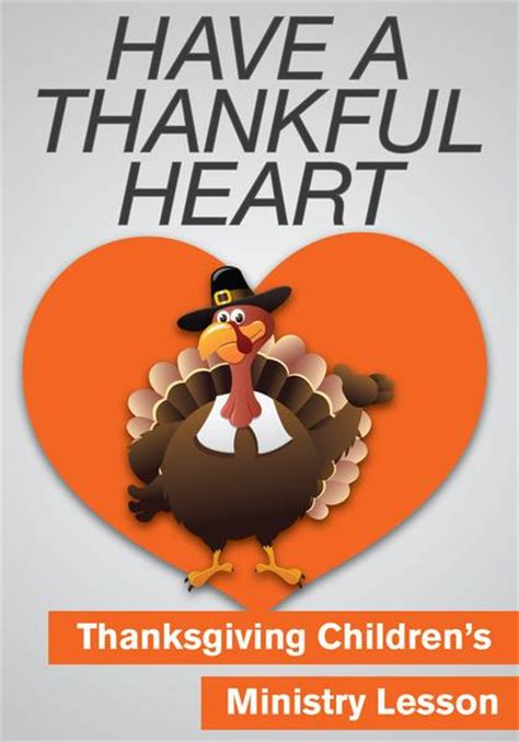 thanksgiving children s ministry lesson a thankful 853 | Thankful Heart grande
