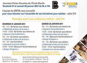 Ecole Boulle Formation : journ es portes ouvertes de l cole boulle janvier 2017 bois le bouvet ~ Farleysfitness.com Idées de Décoration