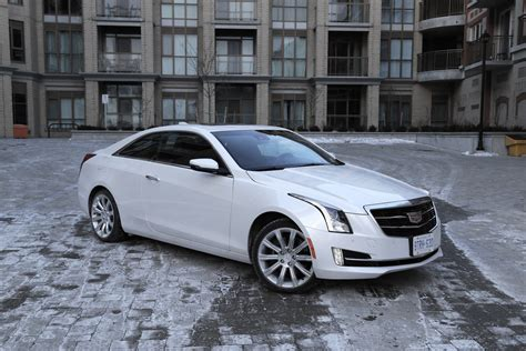 review  cadillac ats coupe  canadian auto review