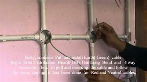 Pvc Conduit Wiring Installation Created By Ishak