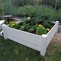 raised garden boxes NuVue Raised Garden Box Planters + Gardening