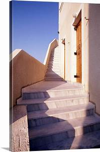 Stairs, Along, Side, Of, Building, Wall, Art, Canvas, Prints, Framed, Prints, Wall, Peels