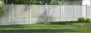 Zaun Aus Kunststoff : moderne zaun ideen f r ihr zuhause obi ~ A.2002-acura-tl-radio.info Haus und Dekorationen