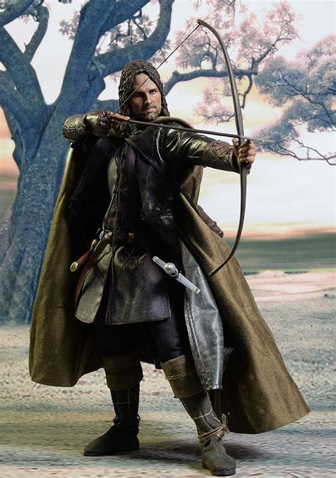 review and photos of lord of the rings aragorn 1 6th figure by asmus