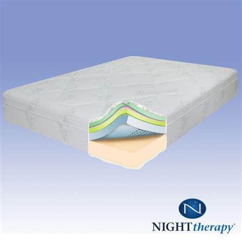therapy memory foam mattress reviews compare therapy 12 therapeutic pressure relief