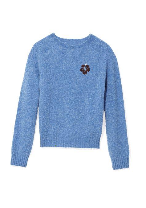 oprah sweater fall 2016 fashion trend blue