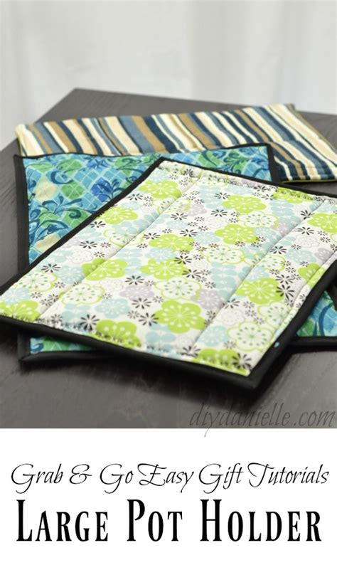 video tutorial oversized hot pads  casserole dishes sewing