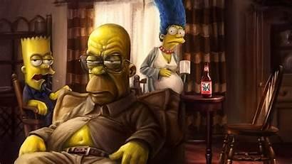 Simpson Bart Simpsons Homer Bad Marge Breaking