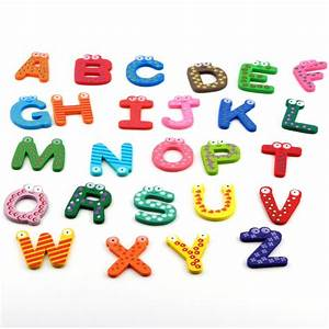 online buy wholesale wooden alphabet magnets from china With plastic magnetic letters bulk