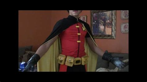 young justice robin costume youtube