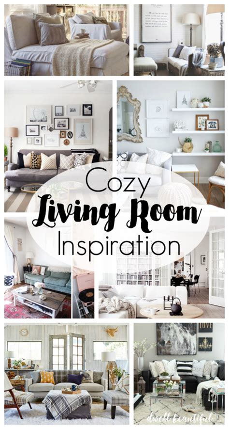 Cozy Living Room Inspiration by Cozy Living Room Inspiration Dwell Beautiful