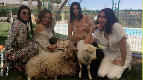 Kim Kardashian Shares Family Photos from Easter Party 2017 ...