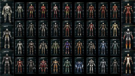 Our New Sets Iron Man Hall Of Armour 42 Men