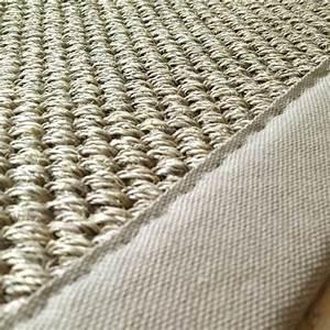tapis en sisal sur mesure ganse couleur naturel With tapis en sisal sur mesure