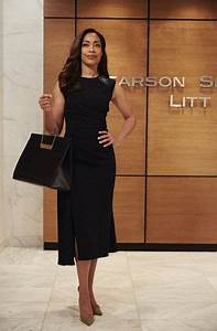 Jessica Pearson, from the TV series Suits. She is a senior ...