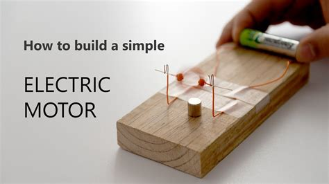 Build An Electric Motor by How To Build A Simple Electric Motor