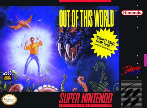 Out Of This World Snes Super Nintendo