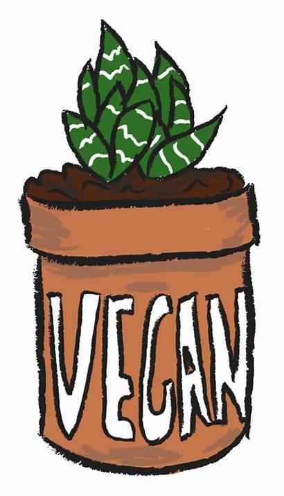 Succulent Vegan Clipart Illustration Plant Gifs Posh