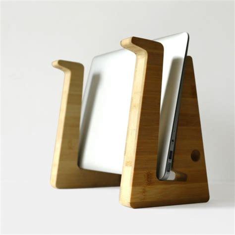 acheter fauteuil de bureau support pour ordinateur portable en bambou green tuna design