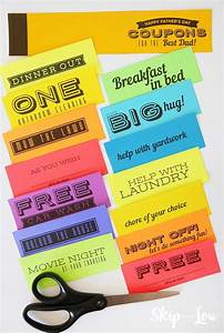 Homemade Coupons For Boyfriend Ideas Printable Coupon Book For Dad Coupon Book Diy