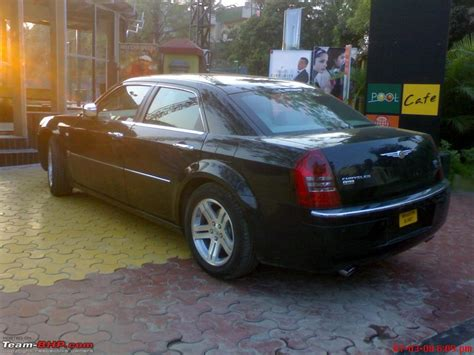 Chrysler India by Spotted Chrysler 300c In Pune Team Bhp