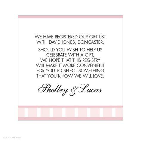 money wedding registry alannah wedding invitations stationery shop