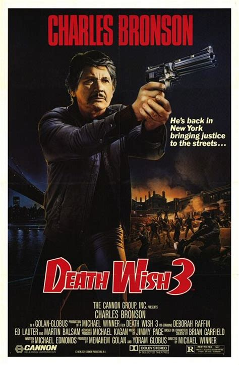 Unfortunately, like most modern remakes of down and dirty movies of the 1970s, it feels so watered down. Death Wish 3 (1985) | Cinemorgue Wiki | Fandom