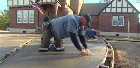 How to Color Concrete When Pouring a Driveway   Today's
