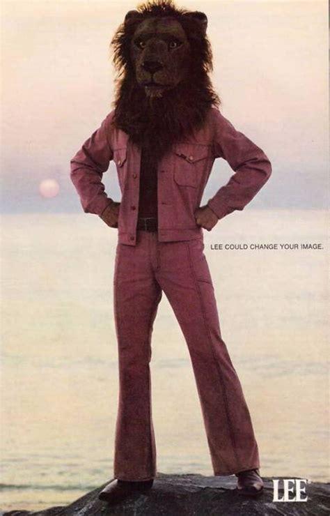 lee  change  image bizarre lee jeans lion head