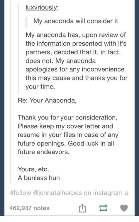 Cover Letter Thank You For Your Consideration by 25 Best Memes About Thank You For Your Consideration