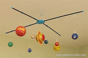 Make a model solar system to learn about the planets