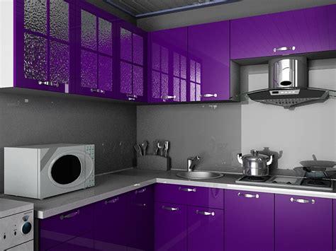 simulation 3d cuisine violet kitchen design 3d model 3dsmax files free