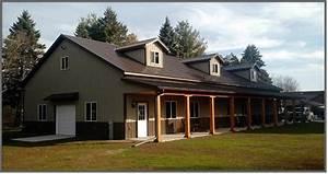 Barn Homes Pole Barns In Sheboygan WI Area Steel Building