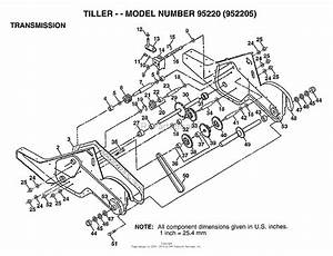 Ayp  Electrolux 95220  1999  U0026 Before  Parts Diagram For Tiller