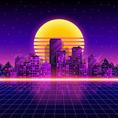 80s Neon City Wallpaper by Image Result For 80s Laser Background Rozy Bob City