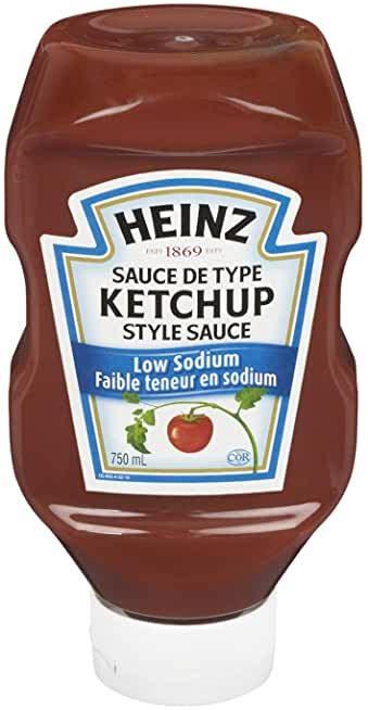 Amazon.com: ketchup low sodium