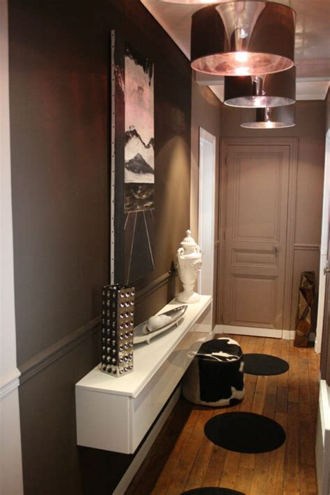idee deco petite entree appartement entree  couloir