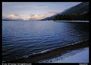 Glacier National Park Montana Winter