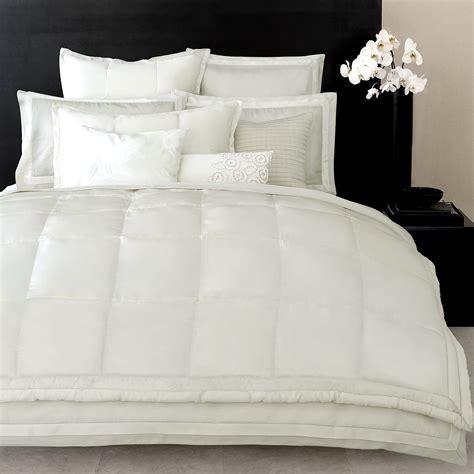 donna karan bedding essentials white collection bedding collections bed u0026 bath donna karan quot modern classics quot bedding white gold