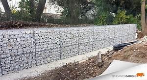 Mur De Cloture En Gabion : 17 meilleures id es propos de mur en gabion sur ~ Edinachiropracticcenter.com Idées de Décoration