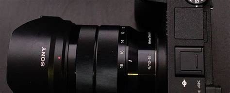 sony sel  mount aps   mm  wide angle zoom