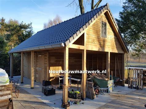 Schuur Bouwen Steen by Houten Schuur Garage Steenarend