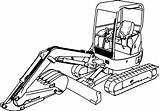 Coloring Excavator Digger Pages Ausmalbilder Mini Drawing Colouring Bagger Hitachi Truck Kostenlos Clipartmag Inspired Entitlementtrap Wecoloringpage Popular Herunterladen Foto sketch template